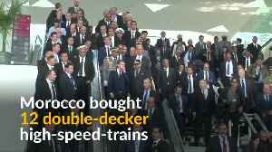 Africa's fastest train speeds off in Morocco [Video]