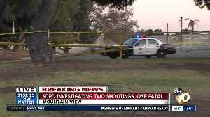 San Diego police investigating two shootings just miles apart [Video]