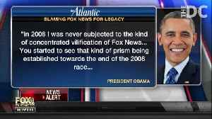 Barack Hussein Obama attacking Fox News montage [Video]