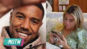 Michael B Jordan Thinking About Nicki's Offer!: Kardashian's Shun Tristan In Delivery Room! | MOTW [Video]