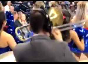 Chicago Band Conductor Plays Chance the Rapper's 'No Problem' on Trombone at Basketball Game [Video]