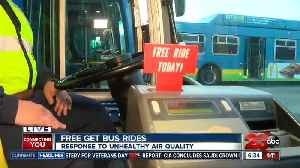 GET Bus offers free rides Saturday [Video]