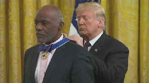 Alan Page Receives Presidential Medal Of Freedom [Video]