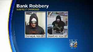 Police: Man Arrested While Attempting To Rob 4th Bank In 8 Days [Video]