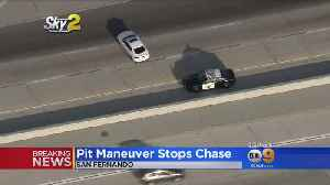 Police Chase Stolen Car Belonging To Off-Duty Officer [Video]