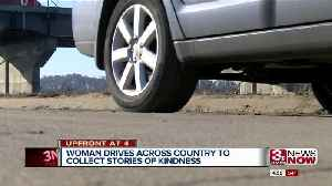 Woman drives across country to find good stories [Video]