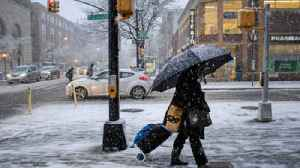 Early Snowstorm Grips Northeastern Part of the US on Thursday [Video]