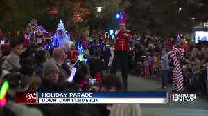 Holiday Parade held in Downtown Summerlin [Video]