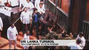 Rajapaksa loses no-confidence vote amid parliamentary chaos [Video]