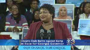 Stacey Abrams Ends Battle Against Kemp In Race For Georgia Governor [Video]