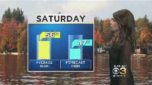 Saturday Morning Weather Update: Nice, Quiet Over The Weekend [Video]