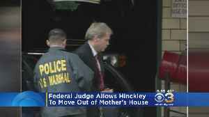Federal Judge Allows John Hinckley To Move Out Of Mother's House [Video]