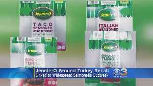 Jennie-O Raw Ground Turkey Products Recalled Due To Possible Deadly Salmonella Contamination [Video]