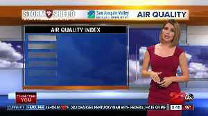 News video: Air quality unhealthy for everyone Saturday