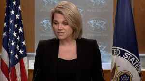 News video: State Department: Reports Saying US Made A Final Conclusion In Khashoggi Case 'Inaccurate'