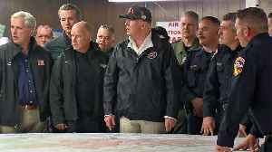 Raw Video: Pres. Trump Receives Briefing by Cal Fire Officials [Video]