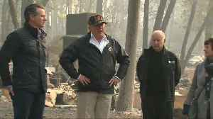 Trump tours Camp Fire devastation in Paradise as death toll rises [Video]