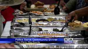 West Point police serve community Thanksgiving dinner [Video]
