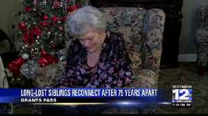 Grants Pass Woman Reunites with Brothers After 75 years Apart [Video]