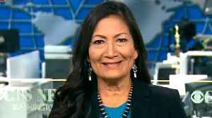 One of the first Native American women elected to Congress heads to Washington [Video]