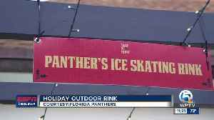 Florida Panthers open outdoor ice rink for the holidays [Video]