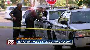 Search for suspects in home invasion [Video]
