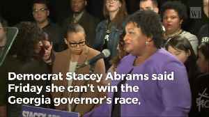 Stacey Abrams Admits Kemp Will Be Next Governor of Georgia, Effectively Concedes Race [Video]