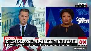 Stacey Abrams refuses to acknowledge Brian Kemp's victory [Video]
