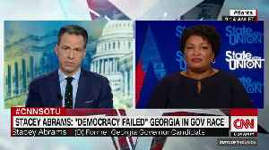 "Stacey Abrams accuses Brian Kemp of ""voter suppression"" [Video]"