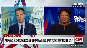 Stacey Abrams still refuses to concede defeat [Video]
