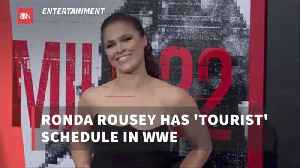 Ronda Rousey Is Now With The WWE [Video]