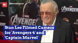 Stan Lee Filmed Two Cameo Recently [Video]