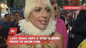 Lady Gaga Collected Memorabilia From 'A Star Is Born' [Video]