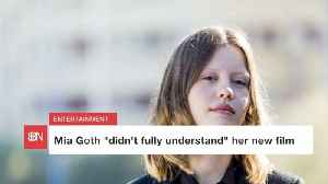 Mia Goth Didn't Really Understand Her New Flick [Video]