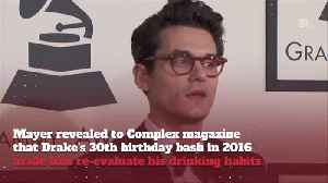 John Mayer Was More Than Drunk For Drake's Birthday Party [Video]
