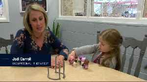 High schoolers invent device to help disabled girl [Video]