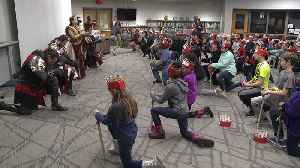 Retiring Social Worker at Michigan Elementary School Gets Special Medieval Send Off [Video]