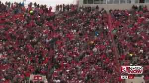 Huskers Rally To Beat Michigan State on Snowy Senior Day [Video]