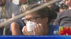 BAD BAY AREA AIR: San Jose State plays home football finale despite layer of unhealthy air [Video]