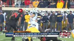 Cowboys beat West Virginia 45-41 [Video]