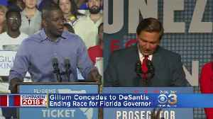 Andrew Gillium Concedes Race To Ron DeSantis In Race For Florida Governor [Video]