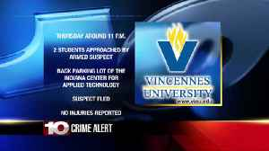 Police investigate armed suspects at VU [Video]
