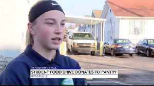 Student Food Drive Aims to Help Those in Need [Video]
