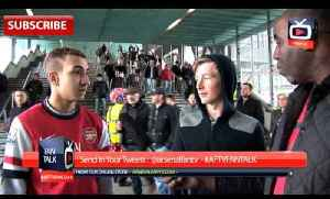 Arsenal 1 v Man Utd 1 - We did well in the first half says fan - ArsenalFanTV.com [Video]