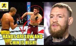 Khabib will get slept if he fights with his usual style against Conor McGregor,Derrick vs volkov? [Video]