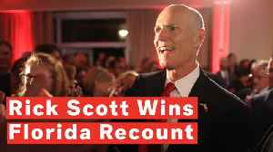 Rick Scott Wins Florida Senate Seat In Bitter Contest [Video]