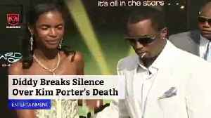 Diddy Breaks Silence Over Kim Porter's Death [Video]