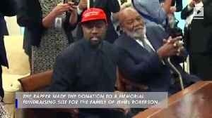 Kanye Donates $150,000 to Family of Security Guard Killed By Chicago Police [Video]