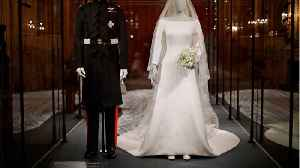 The Queen Shades Meghan Markle's White Wedding Dress [Video]