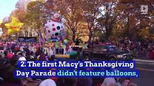 10 Thanksgiving Fun Facts You Never Knew [Video]